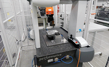 The system consists of CNC electro discharge machine (Roboform 350 Sp GF Agie Charmilles) to manufacture the workpieces, 3R robot for loading workpieces and tools in and out of the machine and for using the identification cycles (Work Master robot) and CMM (DEA Global Performance, with measuring range 500×700×500 mm, resolution 1 µm)